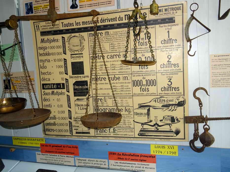 musée du poids de Mécringes