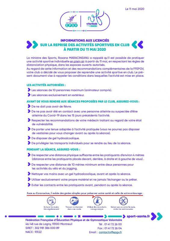 Note d infos aux licencies ffepgv 110520