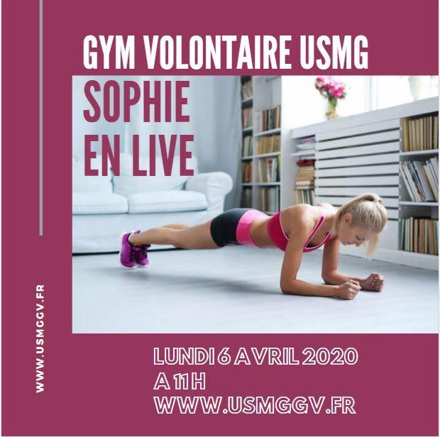 Sophie live 1